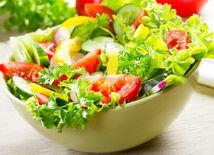 šalát, zelenina, zdravé jedlo