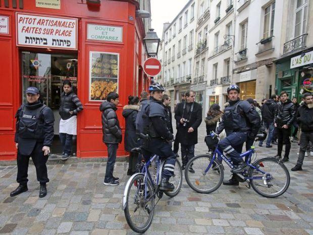 Francúzsko, policajti