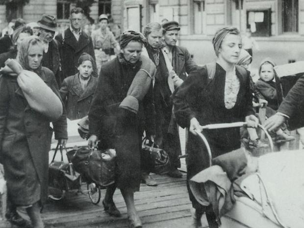 Nemci, odsun, deportácia, vysťahovanie, menšina