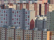 Petržalka, bytovky, domy, paneláky, sídlisko