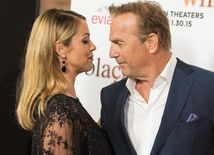 Christine Baumgartner a Kevin Costner