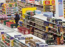 obchod, nakupovanie, potraviny