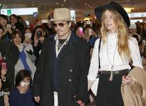 Johnny Depp a jeho snúbenica Amber Heard