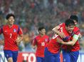 Južná Kórea, futbal, radosť