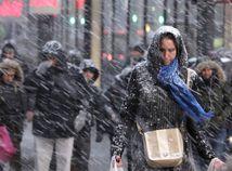 New York, snehová búrka