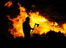 oheň, viking, Škótsko,