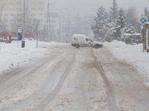 sneh, zima, mráz, kalamita, sneženie, ľad, počasie, vločky, Nitra