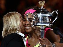 Serena Williamsová, Martina Navrátilová