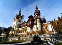 hrad, Peleš, Rumunsko,