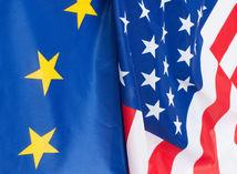 usa, amerika, európa, eú, európska únia, spojené štáty americké, amerika, zástava, zástavy