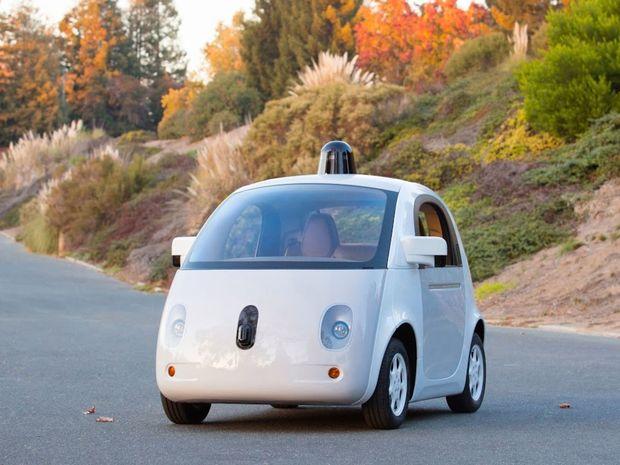 Google, auto, autonómne, bez vodiča, prototyp