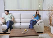 žena, muž, hádka, rande, nuda