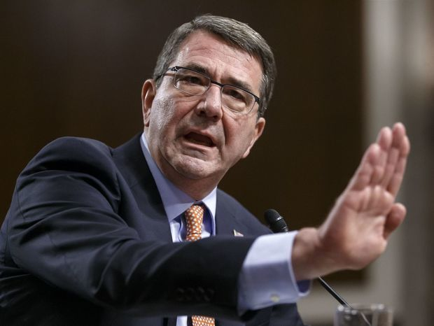 Ashtona Carter, Pentagon, USA, minister obrany