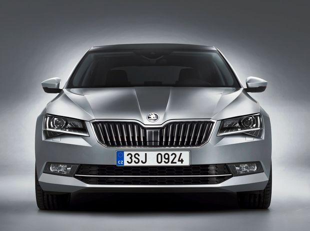 Škoda Superb - 2015