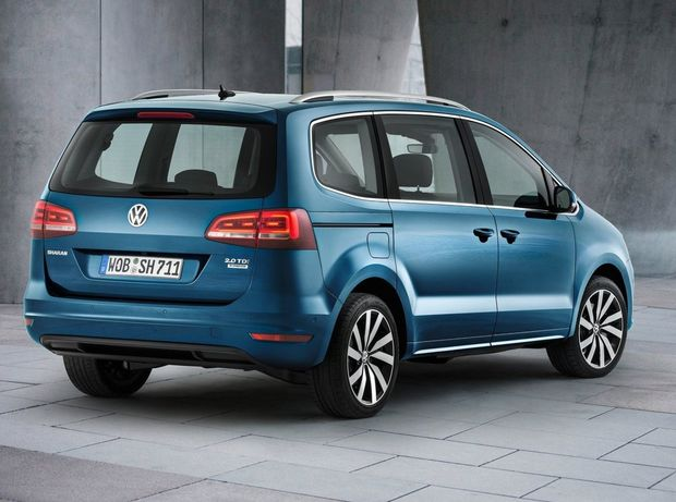 vw sharan 2015 facelift a spotreba ni ia o 15 novinky auto. Black Bedroom Furniture Sets. Home Design Ideas