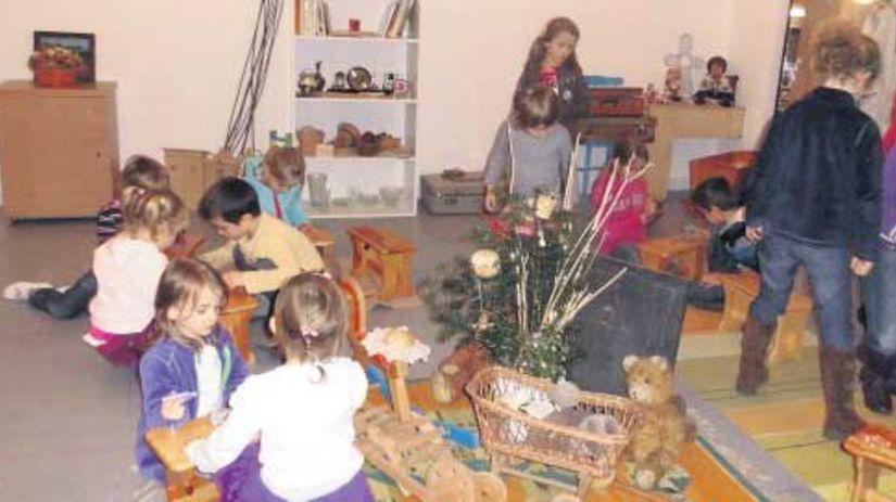 Deti si užijú výlet do Čičmian 68ea92a3ed8