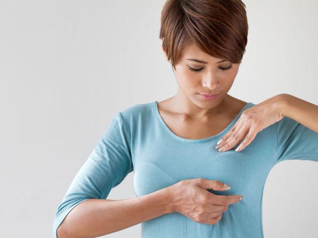 samovyšetrenie prsníkov, prsníky