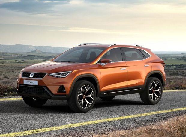 Seat 20V20 je jasným predobrazom nového sériového SUV zo Španielska. Ako koncept si však mohol dovoliť efektnú grafiku full LED svetiel či zapustené kľučky dverí.
