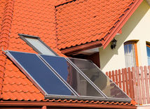 slnečné kolektory, dom, energie, slnko