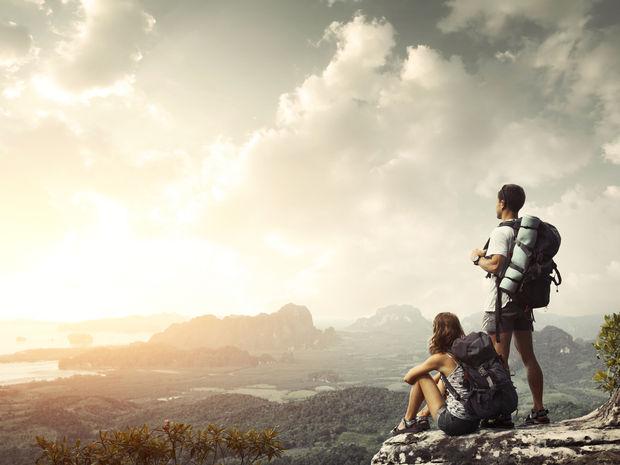 turistika, šport, dopamín