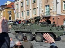 vojenský konvoj, Poľsko