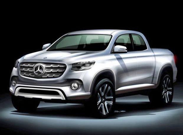 Mercedes-Benz pick-up - 2017