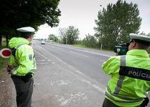 policia, radar, meranie rychlosti, alkohol, tester