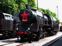 vlak, parná lokomotíva, historický vlak, rušeň,