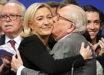 Marine Le Penová, Jean–Marie Le Pen