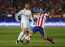 Cristiano Ronaldo, Real Madrid, Koke, Atlético Madrid