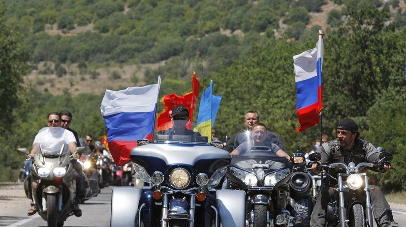 Motorkari Nocni Vlci Su Putinova Svorka Chcu Prist Aj Na