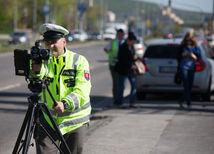 polícia, radar, meranie rýchlosti