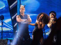 Robbie Williams v Bratislave.