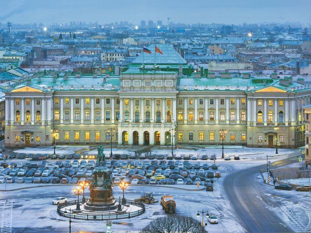 Zimný palác, Ermitáž, Petrohrad, Rusko