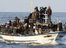 Taliansko, loď, utečenci