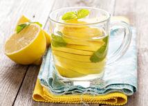 citrónová šťava, citrónová voda, citronáda