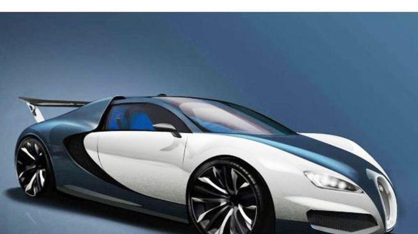 Bugatti Chiron  Nástupca Veyronu chytá obrysy. Bude rýchlejší než F1 -  Novinky - Auto - Pravda.sk 6ee3ec80108