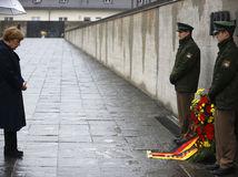 Merkelová, Dachau