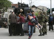 Macedónsko, streľba