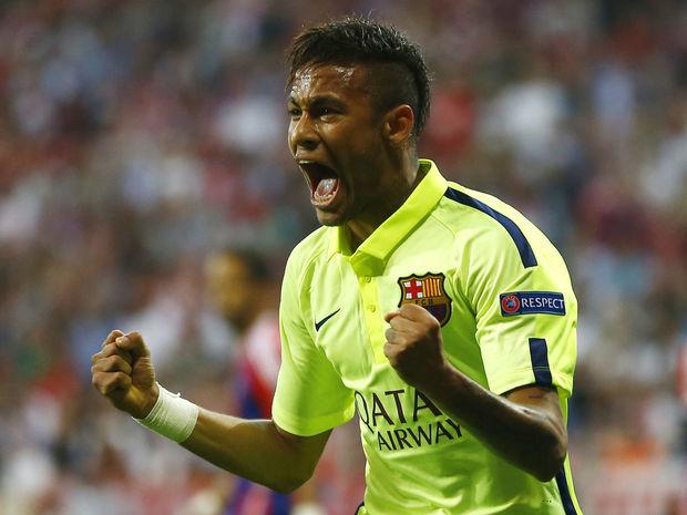 Neymar, FC Barcelona, radosť