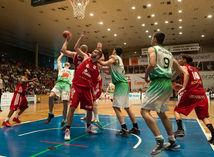 basketbal, Prievidza, Komárno