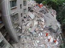 Čína, budova
