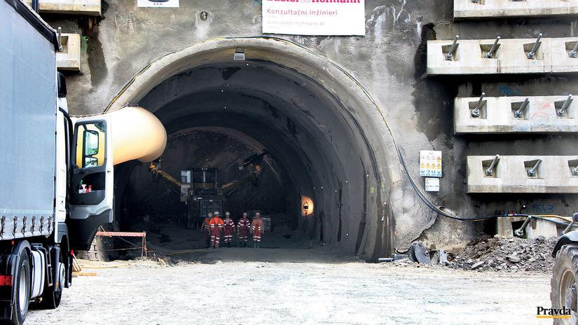 Začali raziť najdlhší diaľničný tunel Višňové - Ekonomika - Správy -  Pravda.sk 42a51f39e07