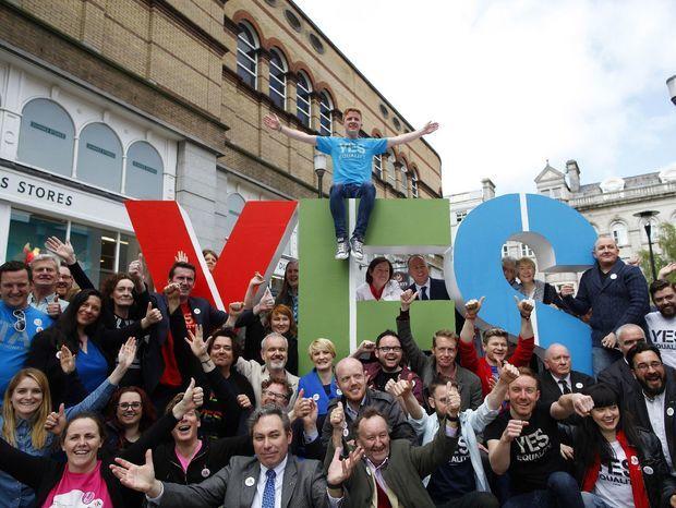Írsko, kampaň, gejovia, homosexuálne manželstvá