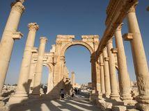 Palmýra, Sýria, islamský štát