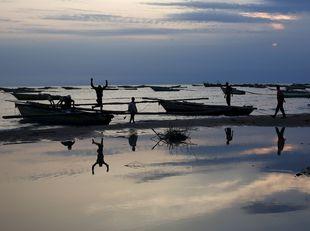rybári, Tanganika, jazero