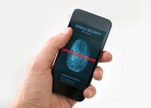 odtlačok, mobil, odtlačok prsta