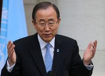 Generálny tajomník OSN Pan Ki-mun