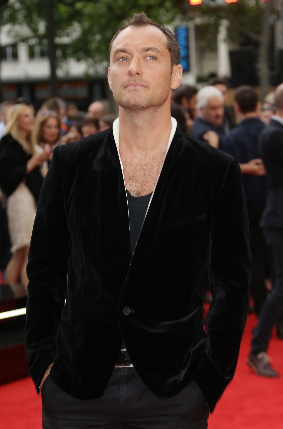 Jude Law - Muž dňa -... Jude Law 2015