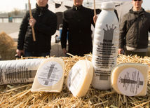 mliekari, mlieko, protest